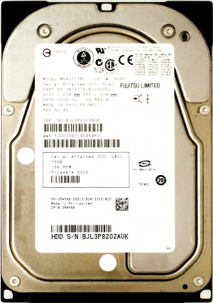 Dell (RW548) 73GB SAS-1 (LFF) 3Gb/s 15K HDD