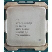 Intel Xeon E5-2643 V4 (SR2P4) 3.40Ghz Hexa (6) Core LGA2011-3 20MB 135W CPU