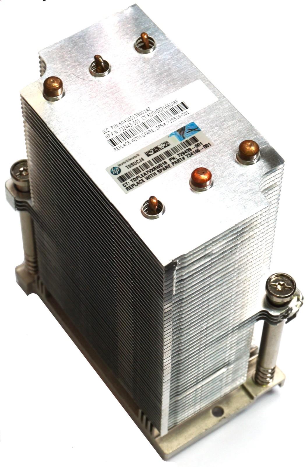 HP ProLiant DL580 Gen8, DL580 Gen9 Screw Down Heatsink