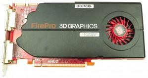 Braco FirePro MXRT 5450 1GB GDDR5 PCIe x16 FH