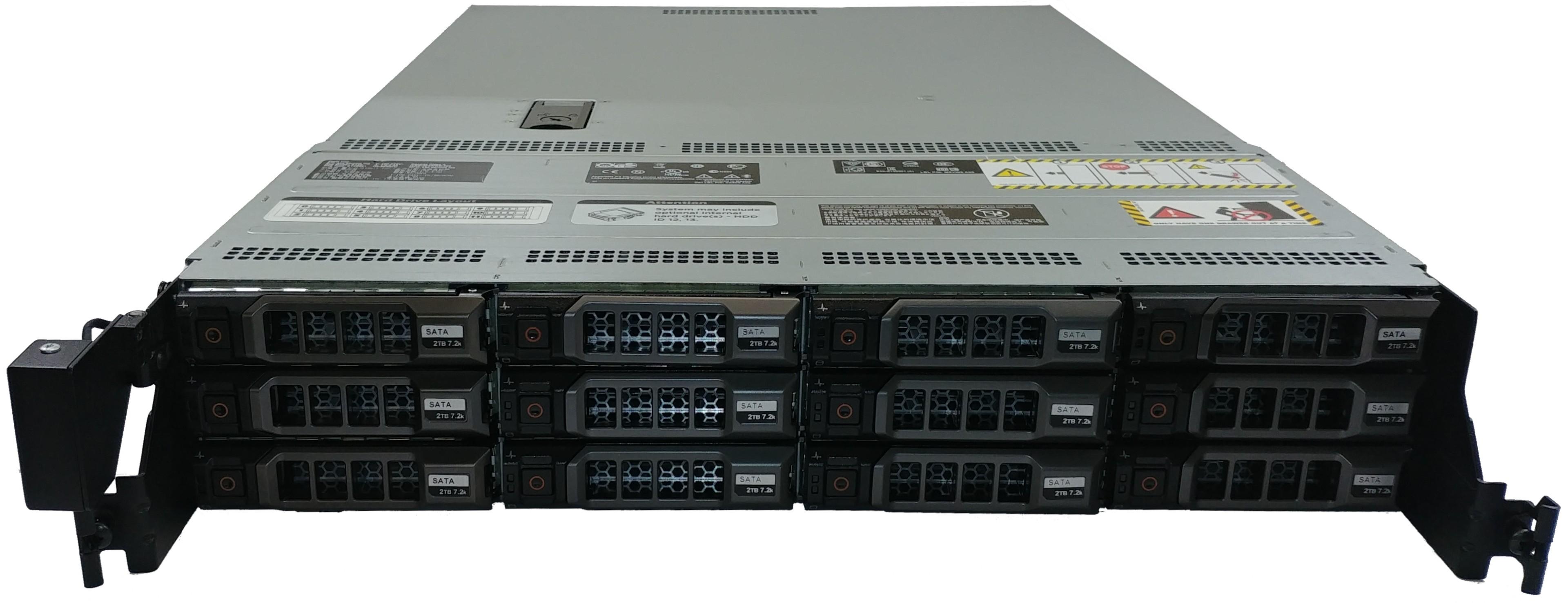 New Dell PowerEdge R510 Hot Swap 2TB 7.2K 6G SATA Hard Drive 1 Year Warranty