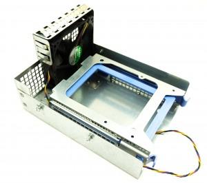Dell T3500, T5400, T5500 LFF HDD Cage + Fan Assy