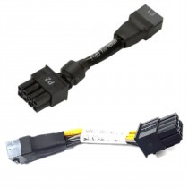 """HP 6 Pin Female PCIe to 8 Pin PCIe Male GPU Power Cable 4"""""""