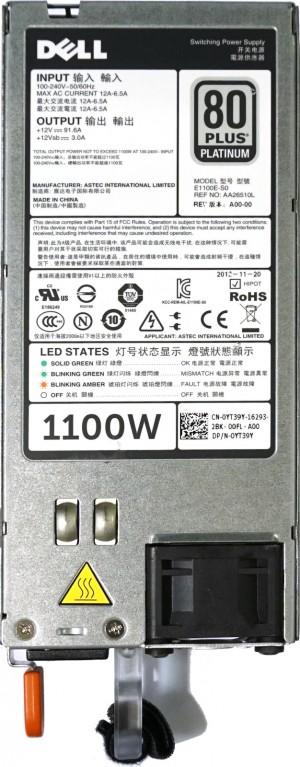 Dell R520,R620,R720,R820 HS PSU 1100W Platinum