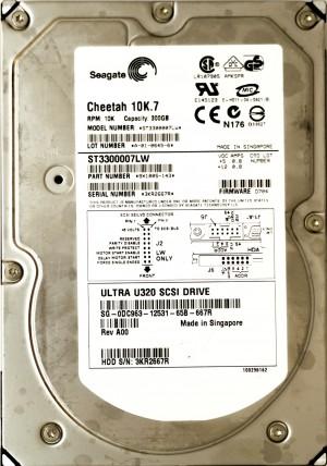 Dell (DC963) 300GB SCSI - 68 Pin (LFF) 10K HDD