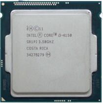 Intel Core i3-4150 (SR1PJ) 3.50Ghz Dual (2) Core LGA1150 54W CPU