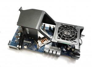 HP Z640 2nd CPU Riser Board inc. Fan & Heatsink