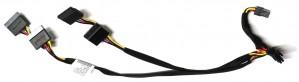 HP ProLiant DL360 Gen9 - Rear 4xSATA Power Cable