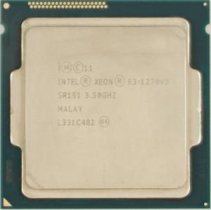 Intel Xeon E3-1270 V3 (SR151) 3.50Ghz Quad (4) Core LGA1150 80W CPU