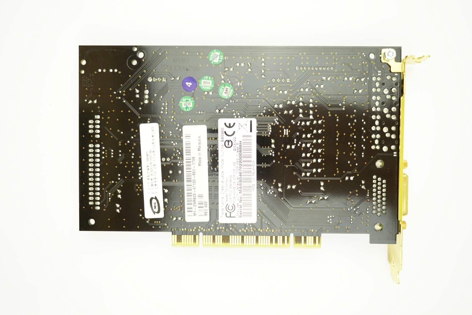 Dell Soundblaster SB0460 - PCI FH Sound Card