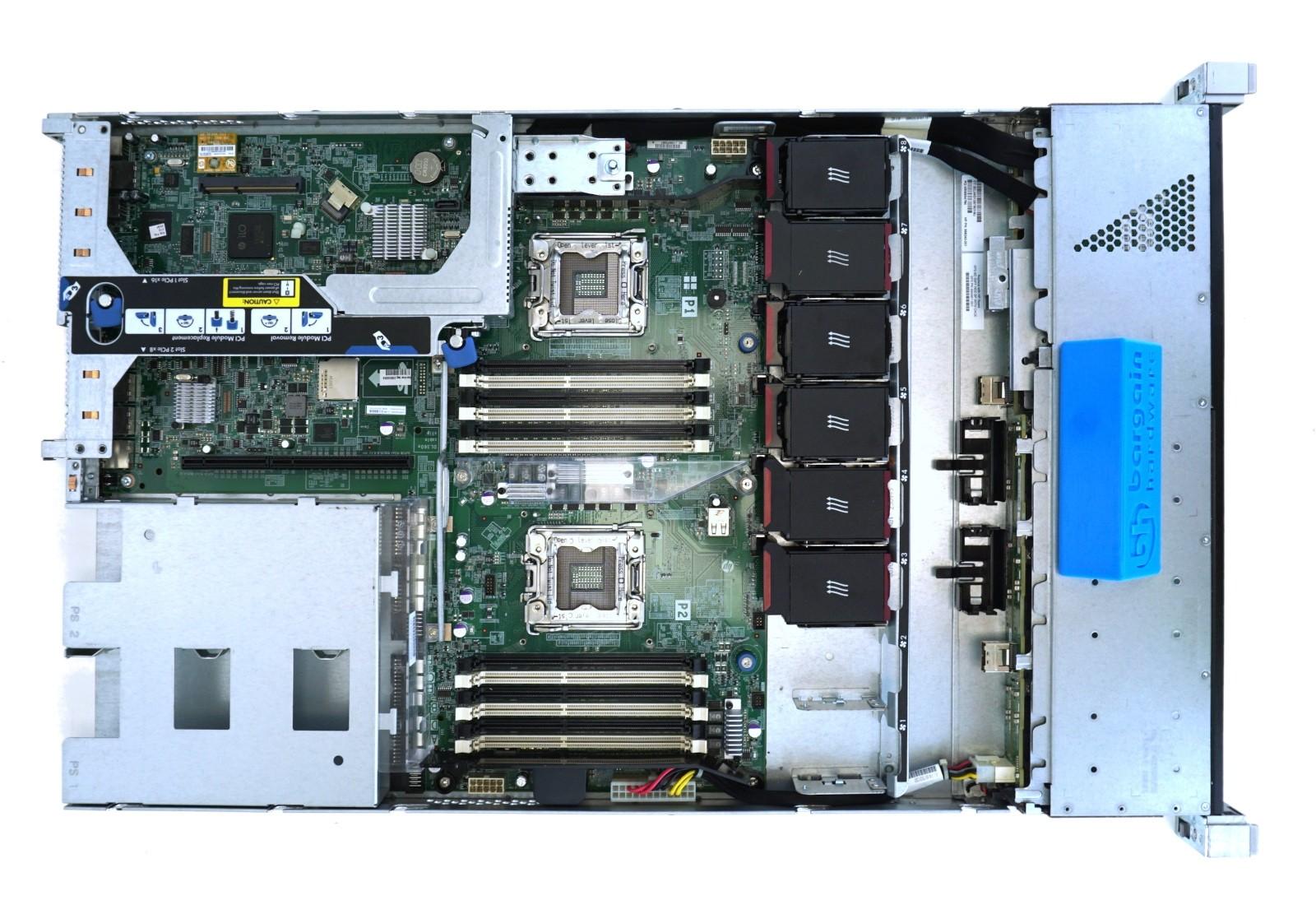HP ProLiant DL360e Gen8 1U 8x 2 5 (SFF)