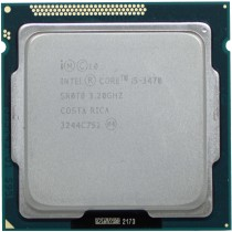 Intel Core i5-3470 (SR0T8) 3.20Ghz Quad (4) Core LGA1155 77W CPU
