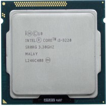 Intel Core i3-3220 (SR0RG) 3.30Ghz Dual (2) Core LGA1155 55W CPU