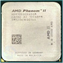AMD Phenom II X4 910E 2.60Ghz Quad (4) Core CPU