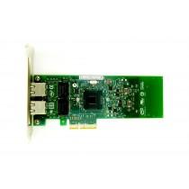 Dell Gigabit ET Dual Port - 1GbE RJ45 Full Height PCIe-x4 Ethernet