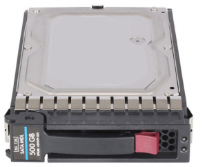 HP (458928-B21) 500GB SATA II (LFF) 3Gb/s 7.2K (459319-001) in G5 Hot-Swap Caddy