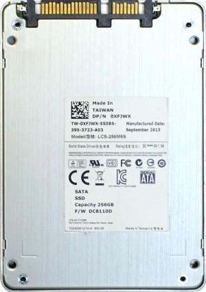 Dell (XFJWX) 256GB SATA III (SFF) 6Gb/s SSD