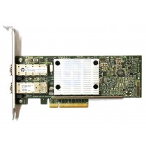 HP 530SFP+ Dual Port - 10GbE SFP+ Full Height PCIe-x8 CNA