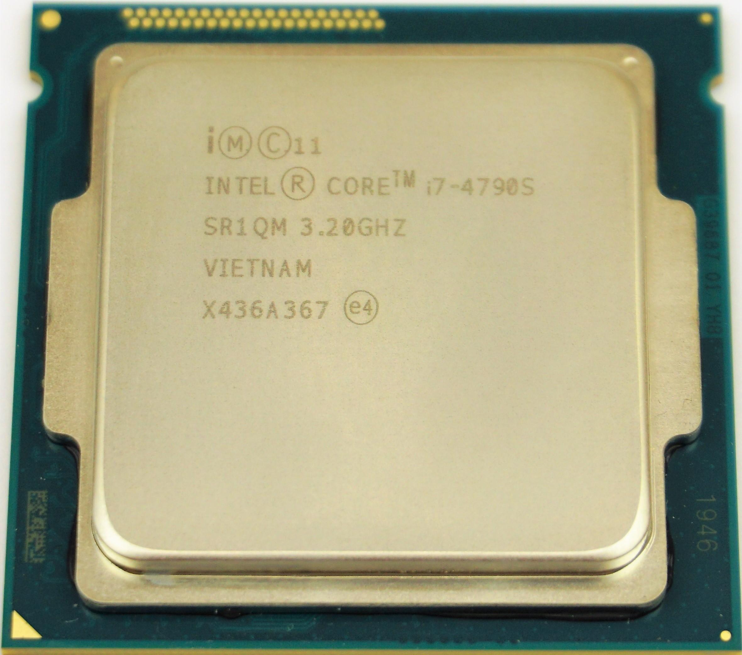 Intel Core i7-4790S (SR1QM) 3 20Ghz Quad (4) Core LGA1150 65W CPU