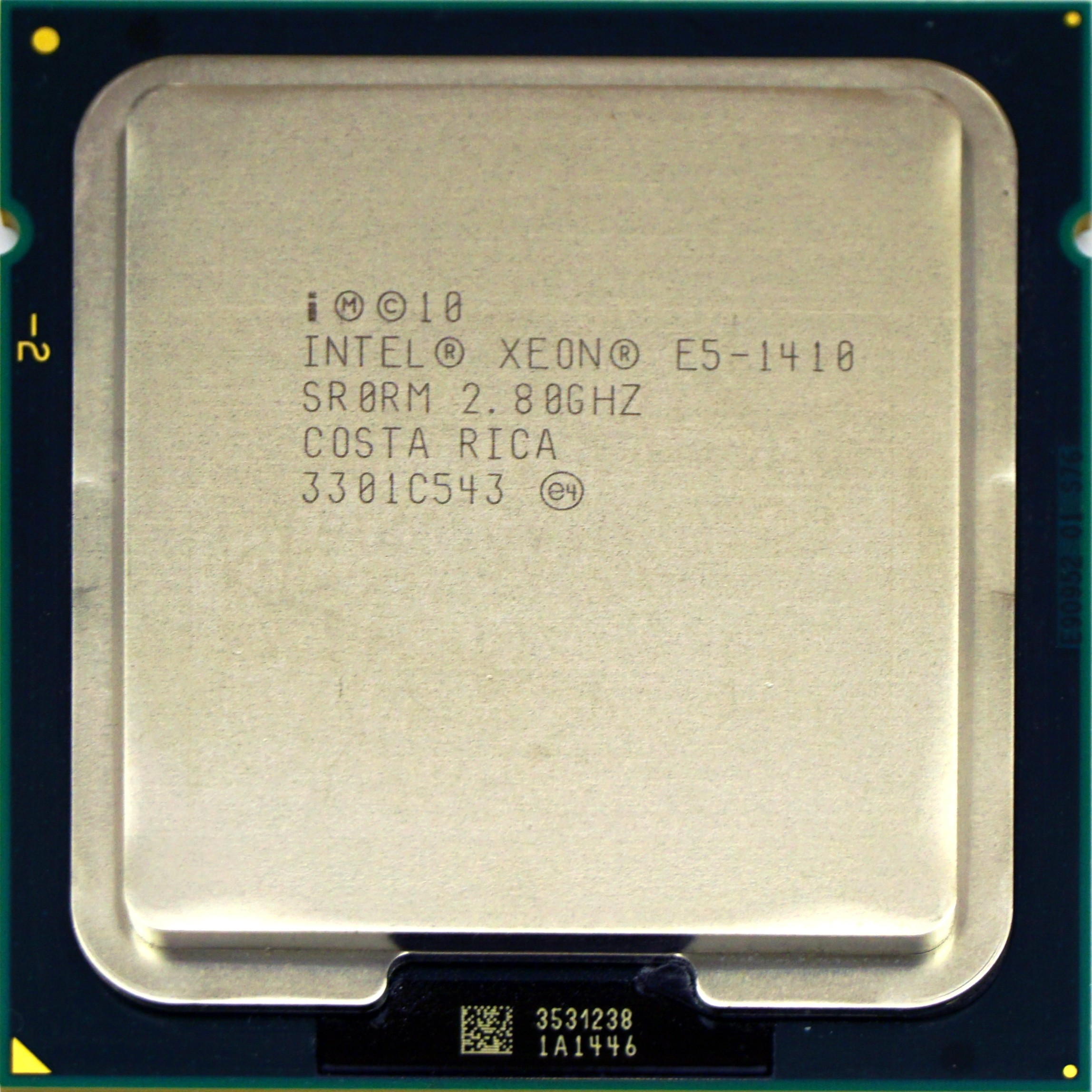 Intel Xeon E5-1410 V1 (SR0RM) 2 80Ghz Quad (4) Core LGA1356 80W CPU