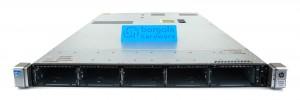 "HP ProLiant DL360p Gen8 V2 1U 10x 2.5"" (SFF) Front"