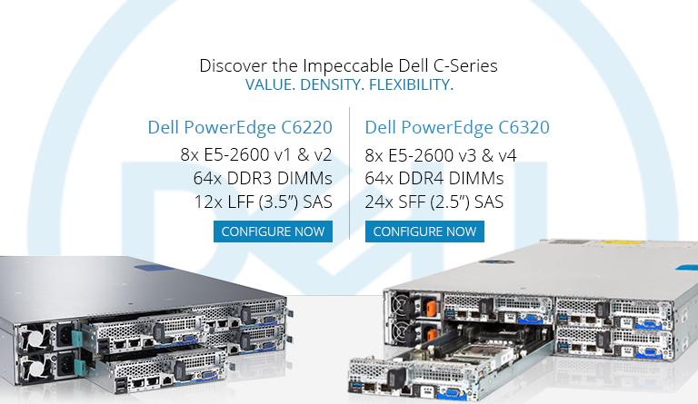 Dell PowerEdge C6220 & C6320