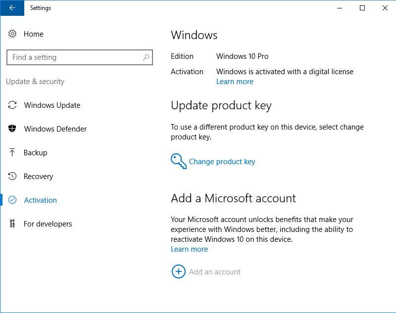 upgrade windows 7 home to windows 10 professional