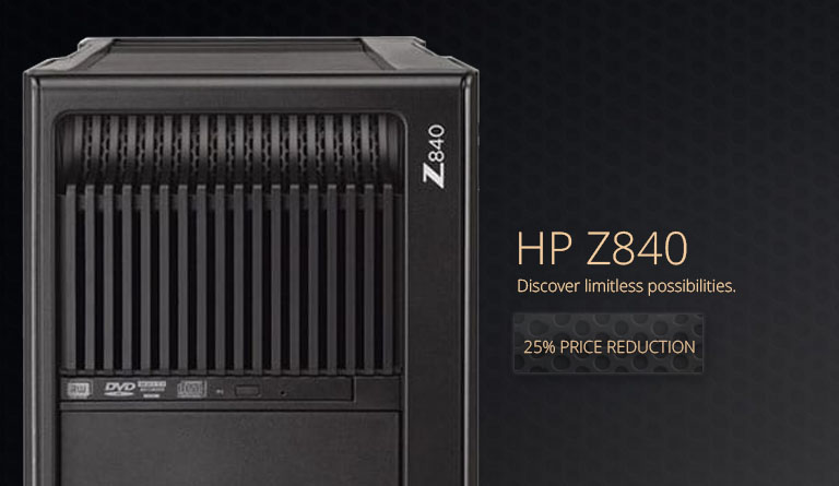 HP Z840 25% Off