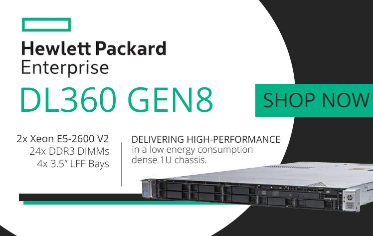 HP ProLiant DL360p Refurbished Server