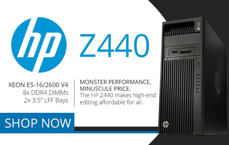 HP Z440 Refurbished Workstation
