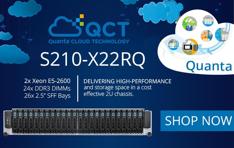 Refurbished Server Quanta Stratos S210